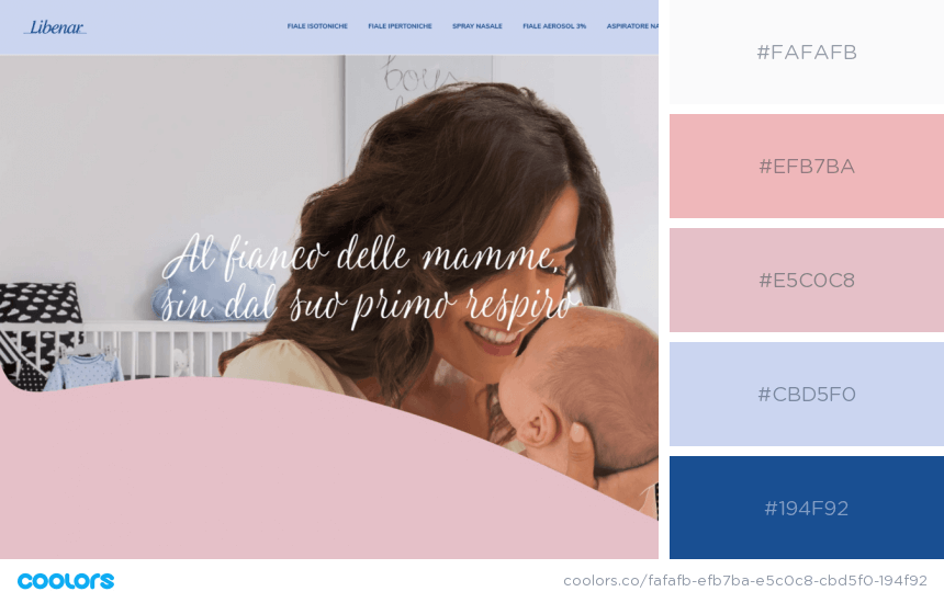 Inspiring Website Color Schemes pastel style website