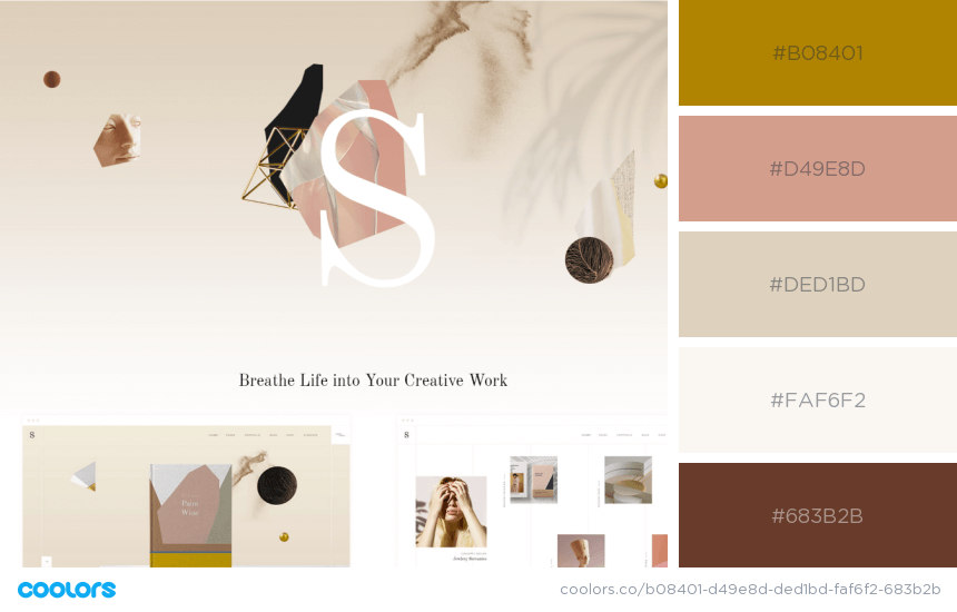 Inspiring Website Color Schemes stylish colors website
