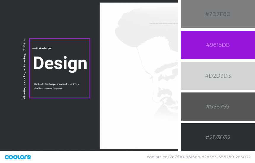 Inspiring Website Color Schemes black and white website