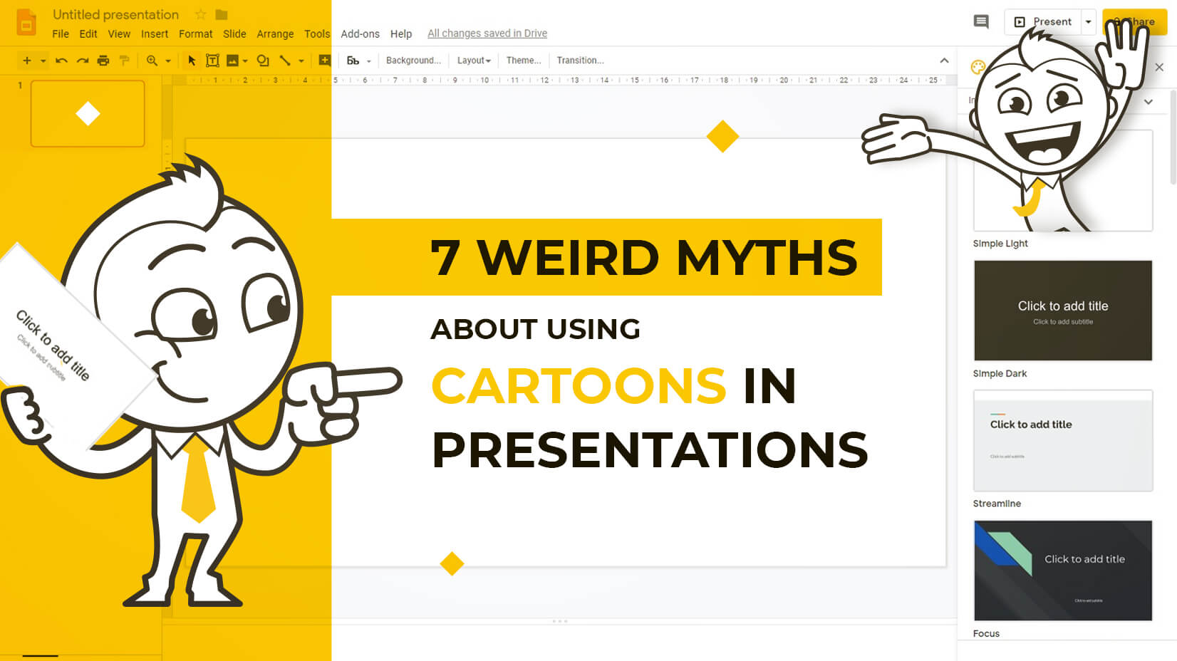 7 Weird Myths About Using Cartoons in Presentations