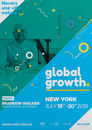 global growth event flyer example