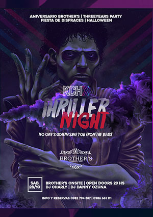 thriller night event flyer example