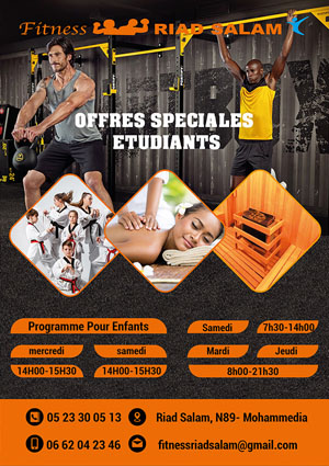 fitness services flyer design