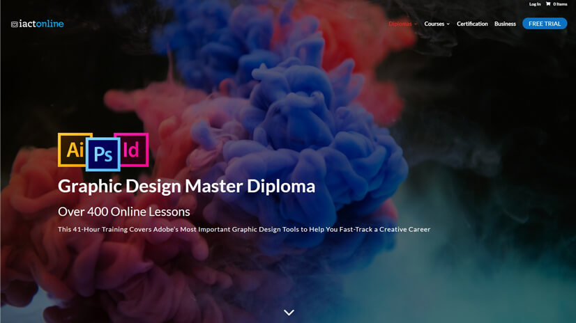 Online Adobe Courses & Graphic Design Master Diploma by International Academy of Computer Training (IACT)