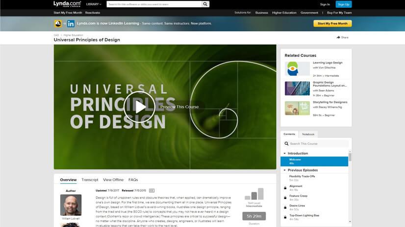 Design Skills Training and TutorialsonLinkedIn Learning (Lynda)