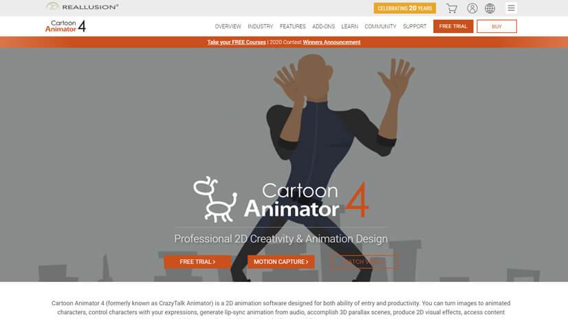 Reallusion Cartoon Animator 4