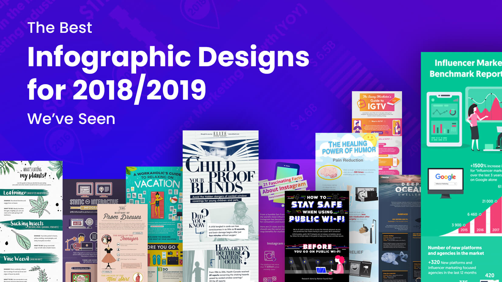 The Best Infographic Designs for 2018/2019 We've Seen