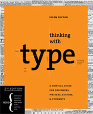 Thinking With Type Book Cover