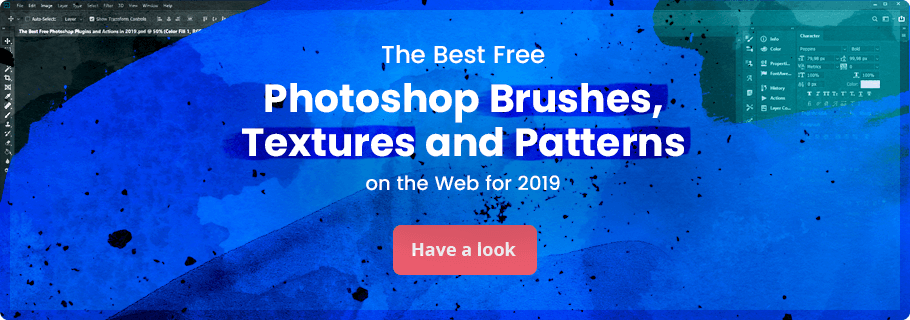 Free Photoshop brushes textures and patterns