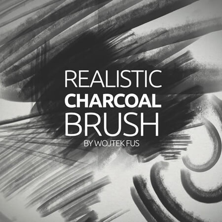 Free Realistic Charcoal Brush