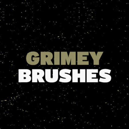 Free Grimey Photoshop Brushes