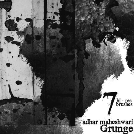 Free High Res Grunge Photoshop Brushes