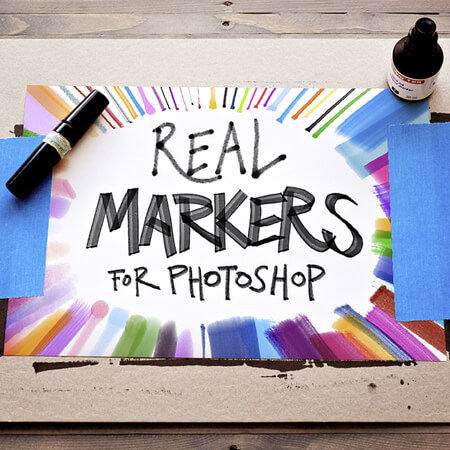 12 Free Real Photoshop Markers
