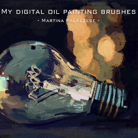 Free Digital Oil Painting Brushes for Photoshop