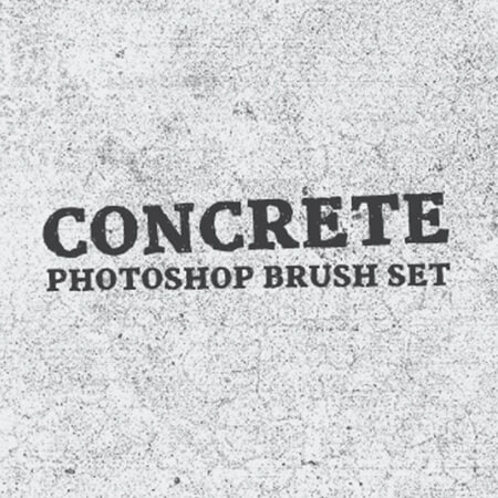 Concrete Free Photoshop Brush Set