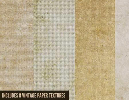 8 Free Vintage Textures