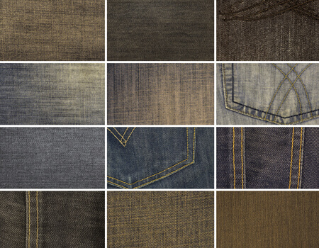 12 High Resolution Denim Textures