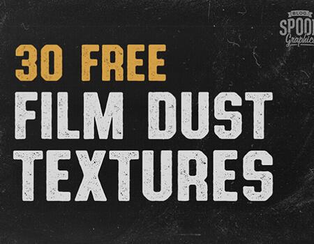 30 Free Film Dust Textures