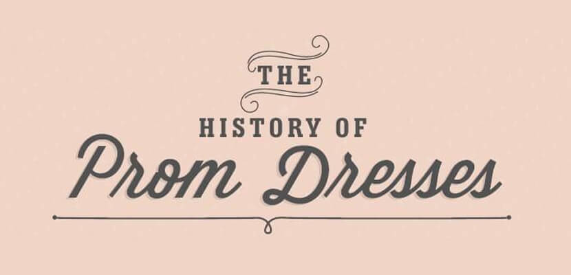 The best infographic designs in 2019 - The History of Prom Dresses