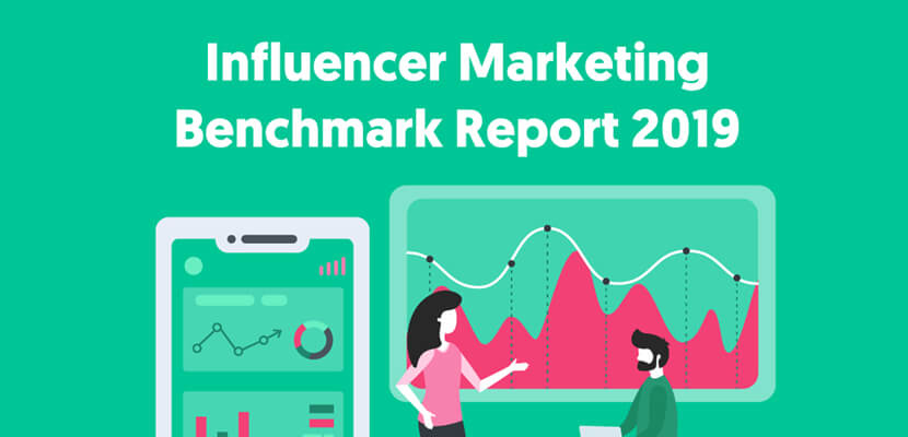 The best infographic designs in 2019 - Influence Marketing Benchmark Report