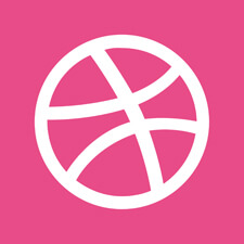 Hire freelance designer dribbble logo