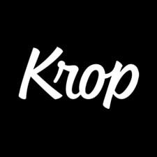 Hire freelance designers krop logo
