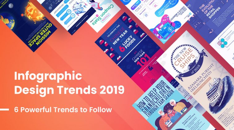Infographic Design Trends 2019 - 6 powerful trends to follow