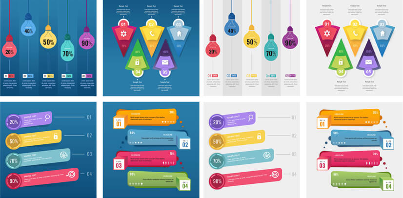 Free PSD Infographic Templates - freepsdfiles.net