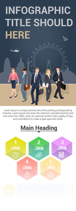 Free PSD Infographic Templates - Multipurpose Infographic Design