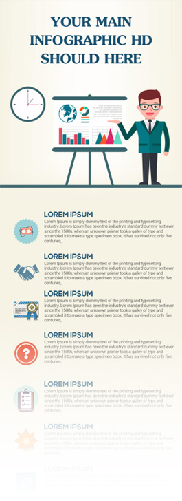 Free PSD Infographic Templates - Clean Infographic Design