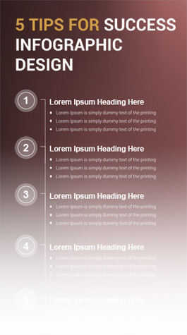 Free PSD Infographic Templates - Success Infographic Design