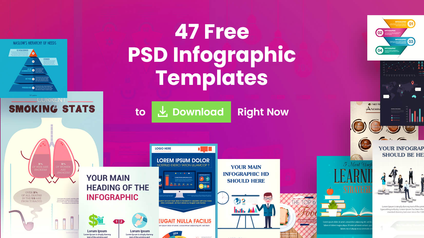 47 Free Psd Infographic Templates To Download Right Now Graphicmama Blog