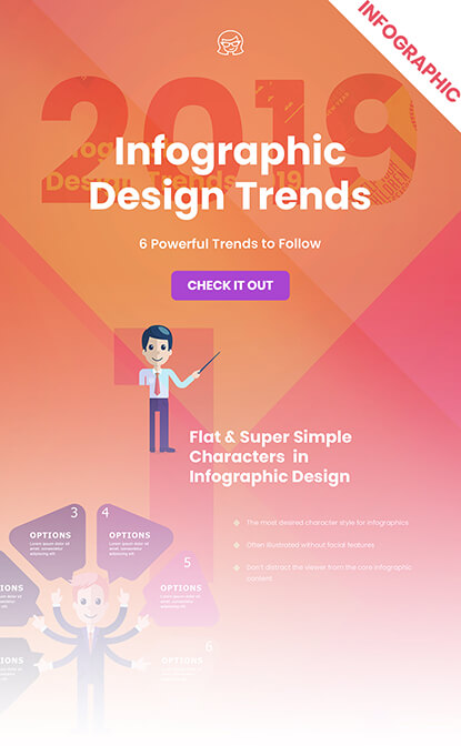 Infographic Design Trends 2019 infographic small