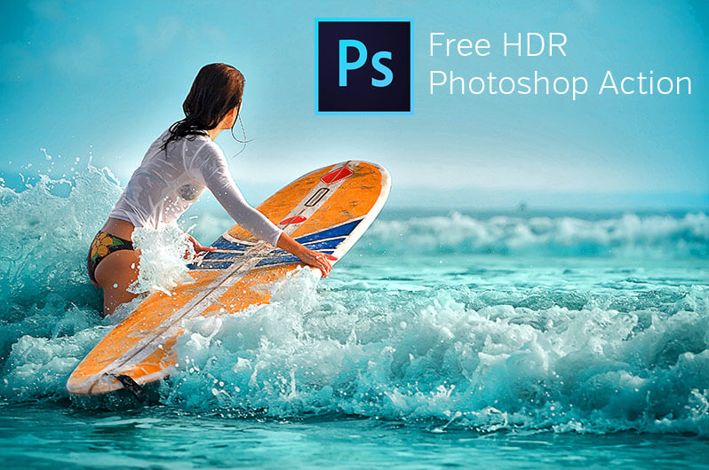 free hdr action for Photoshop