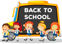 Free School Clipart - Back To School Template