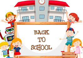 Whiteboard And Back To School Clipart