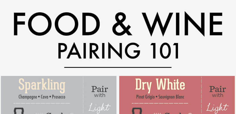 the-best-infographic-designs-in-2019-wine-food-pairings-infographics