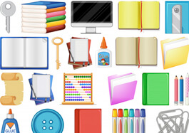 Set of Stationary Items