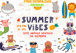 Free Cute Animals Graphics
