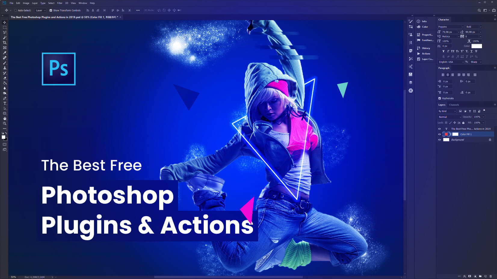 The Best Free Photoshop Plugins & Actions to Get Now | GraphicMama Blog