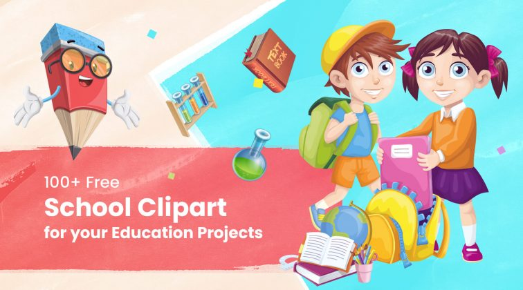The Best 100 Free School Cliparts for your Education Projects