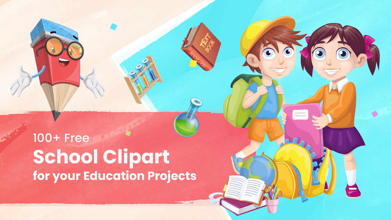 100 Free School Clipart For Your Education Projects Graphicmama Blog