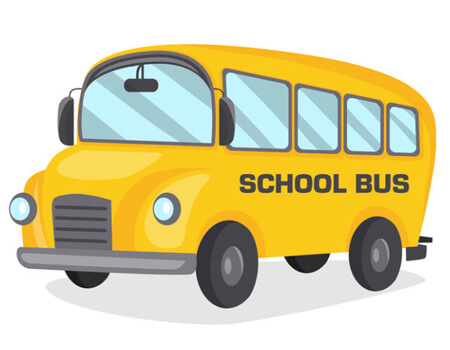 Free School Bus Cartoon Design