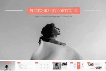 Resume Powerpoint Templates: Photography Portfolio