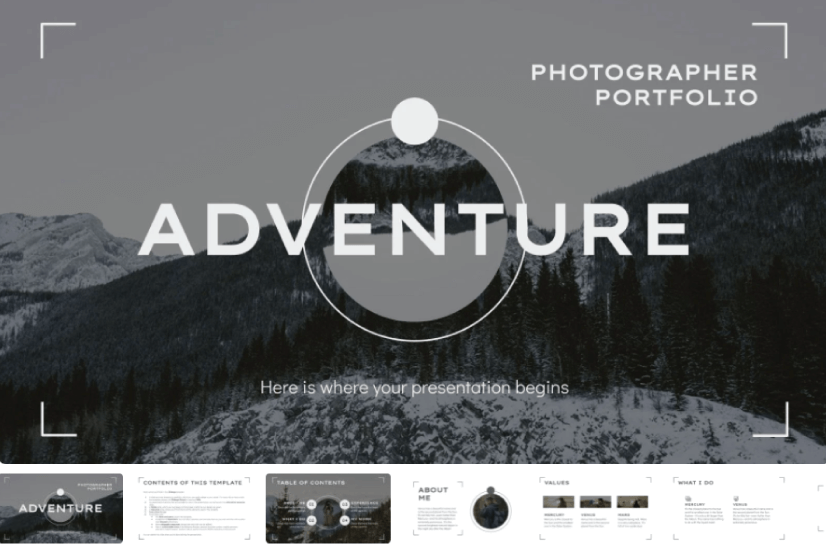 Adventure Photographer Portfolio