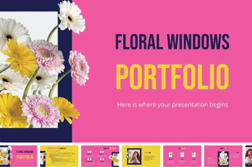 Floral Windows Portfolio