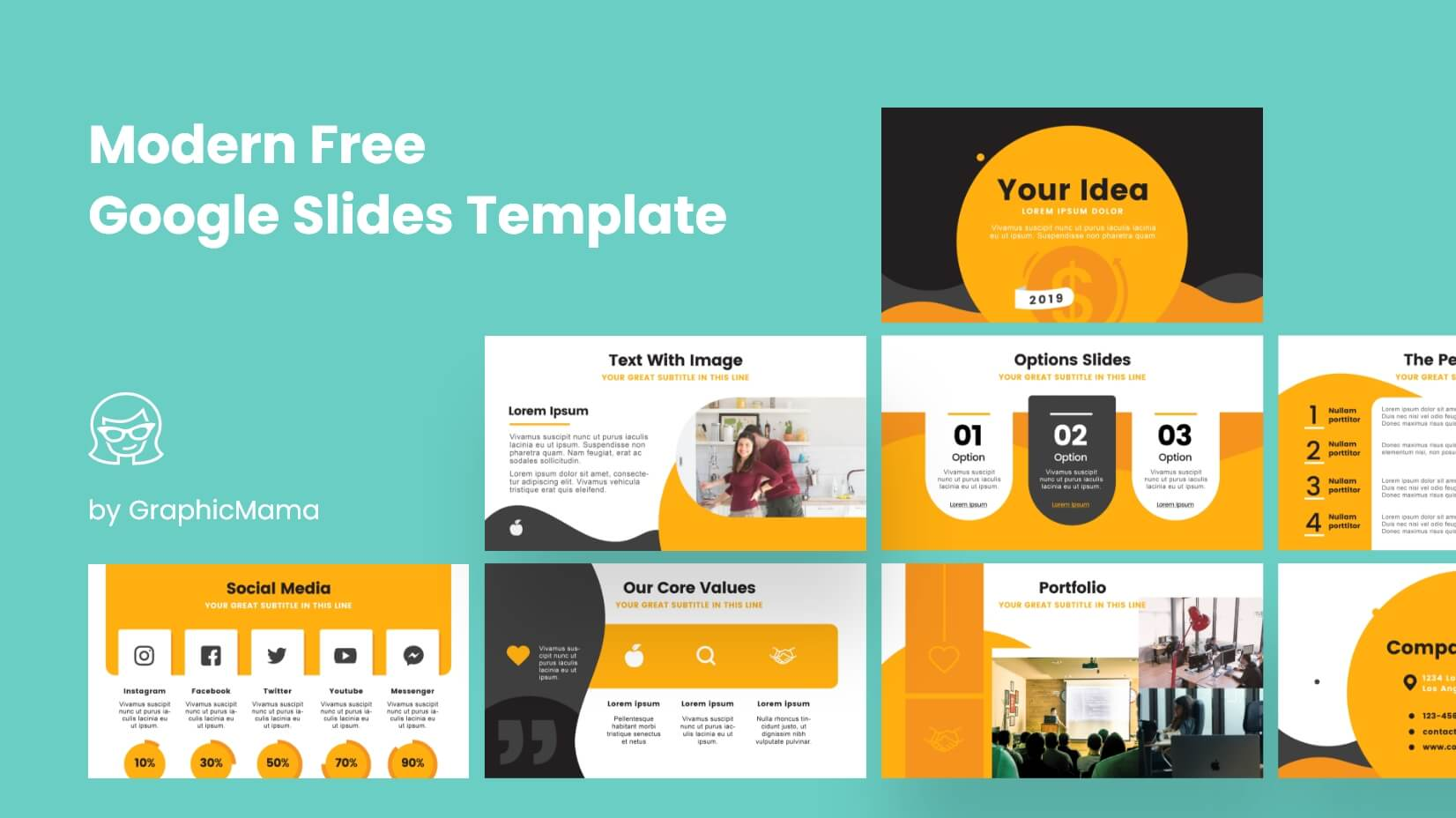 Free Google Slides Templates by Graphic Mama