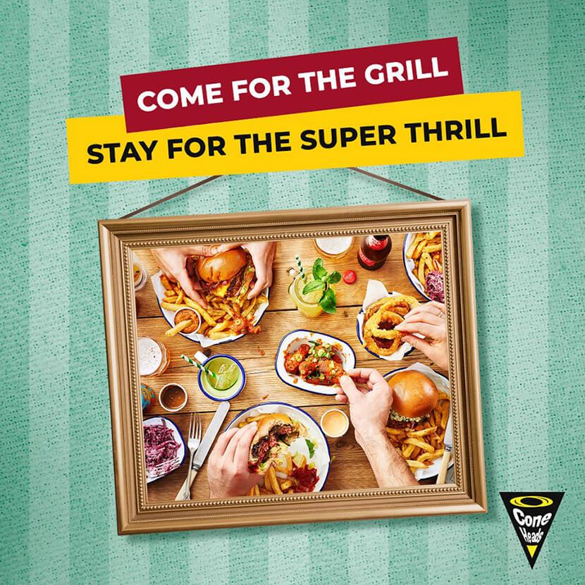 amazing social media food banner