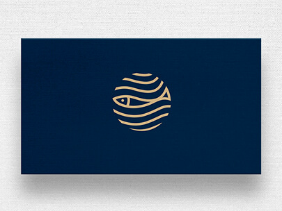 Logo Design Trends 2020 - Gold and metal logos example 6