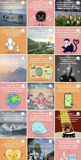 Increíbles ideas de diseño de Instagram: ejemplo diagonal 2